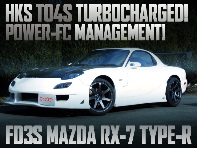 HKS TO4S TURBOCHARGED FD3S RX7 TYPE-R