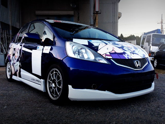 FRONT EXTERIOR ITASHA GE8 FIT RS