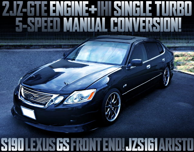S160 LEXUS GS FRONT END JZS161 ARISTO