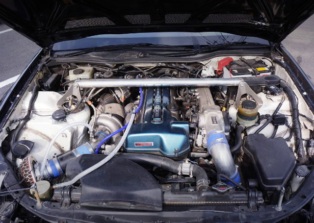 SINGLE TURBO CONVERSION 2JZ-GTE