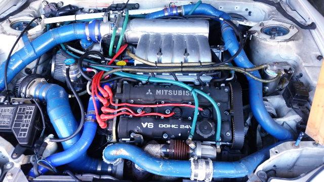 6G72 TWINTURBO ENGINE FOR MITSUBISHI GTO