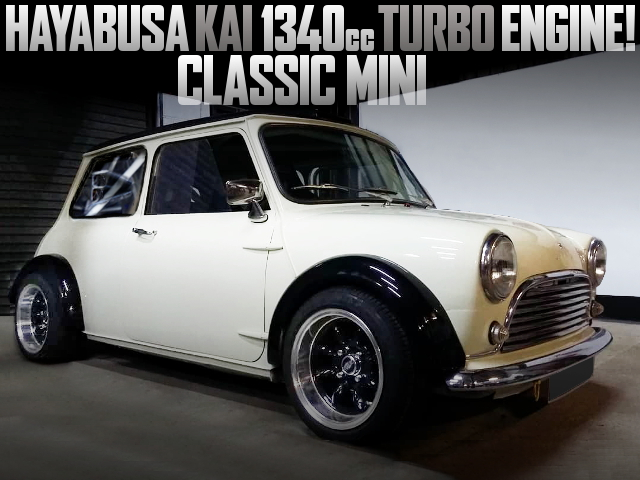 HAYABUSA 1340cc TURBO ENGINE SWAPPED CLASSIC MINI
