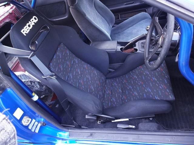 DRIVER POSITION FOR RECARO SEAT