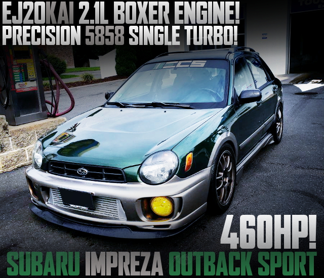 460HP EJ20 2100cc 5858 TURBO 2nd Gen IMPREZA OUTBACK SPORT