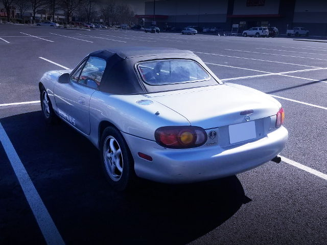 REAR TAILLIGHT NB MIATA SILVER