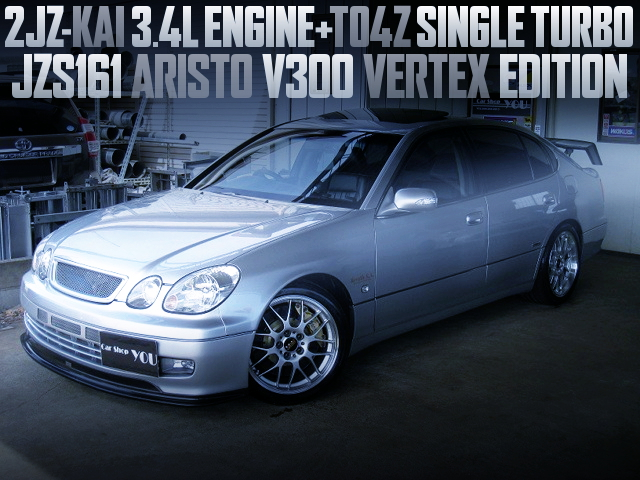 2JZ 3400cc TO4Z TURBO ENGINE FOR JZS161 ARISTO SILVER