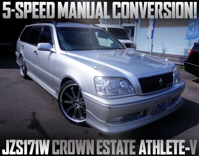 5MT CONVERT JZS171W CROWN ESTATE ATHLETE-V