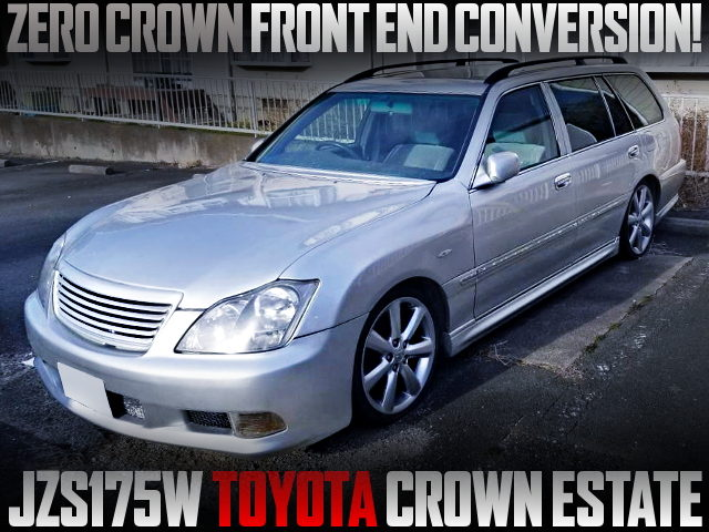 ZERO CROWN FRONT END JZS175 CROWN ESTATE