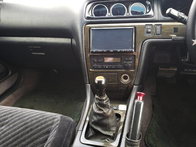 CENTER CONSOLE AND MANUAL SHIFT KNOB FOR JZX100