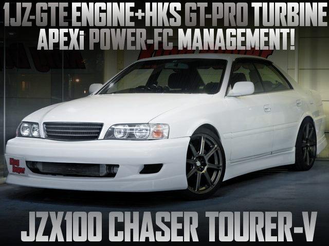 HKS TURBOCHARGED JZX100 CHASER TOURER-V