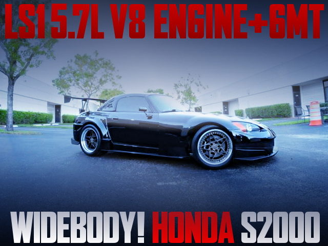 LS1 V8 ENGINE AND WIDEBODY WITH AP1 S2000