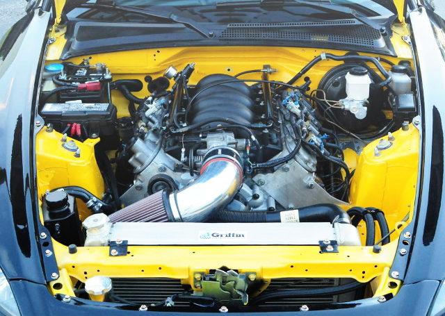 LS1 5700cc V8 ENGINE
