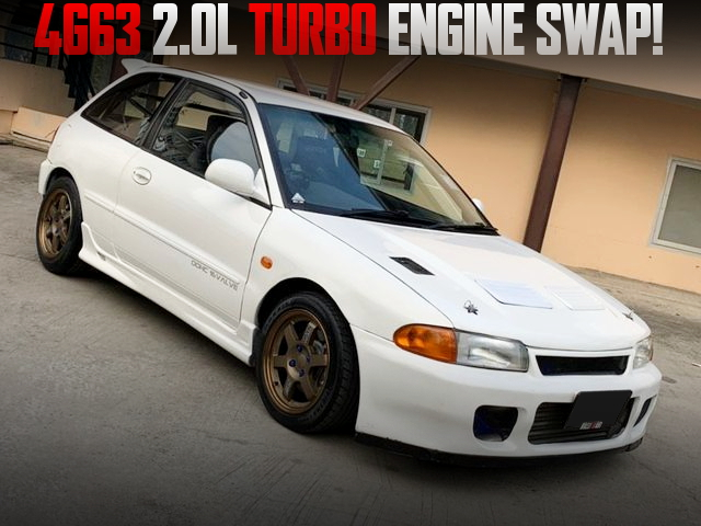 4G63 TURBO ENGINE SWAP MITSUBISHI COLT FOR JDM MIRAGE