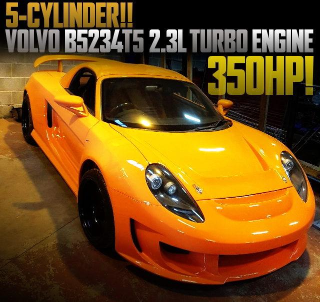 VOLVO T5 2300cc TURBO ENGINE MR2 ROADSTER JDM MR-S
