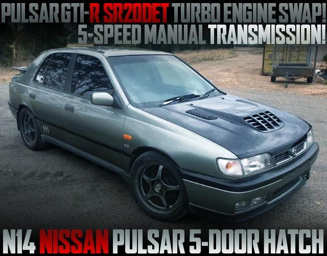 GTI-R ITBs On SR20DET TURBO ENGINE SWAP N14 PULSAR 5-DOOR