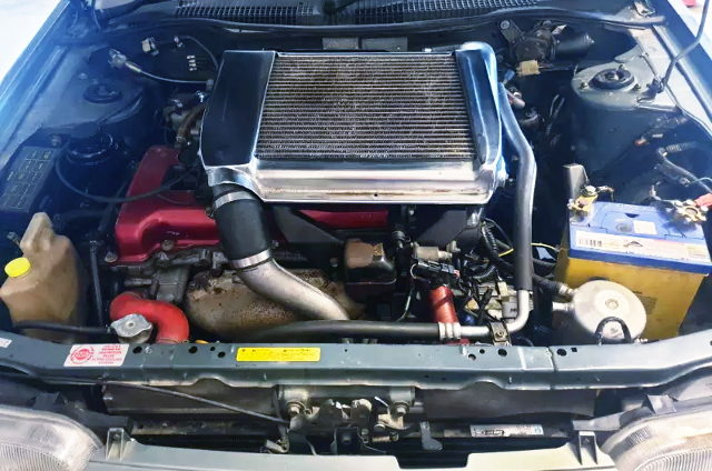 PULSAR GTI-R SR20DET TURBO ENGINE