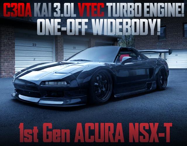 C30A V6 VTEC TURBO ENGINE 1st Gen ACURA NSX-T