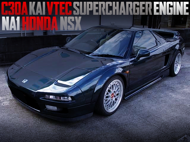 C30A KAI VTEC SUPERCHARGER ENGINE NA1 NSX DARK GREEN