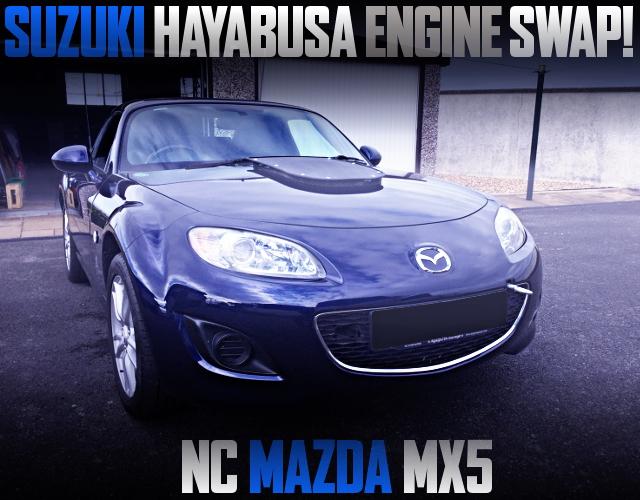 SUZUKI HAYABUSA ENGINE SWAP NC MAZDA MX5 ROADSTER SE