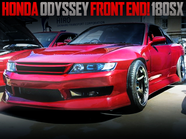 RB1 ODYSSEY FRONT END 180SX CANDY RED