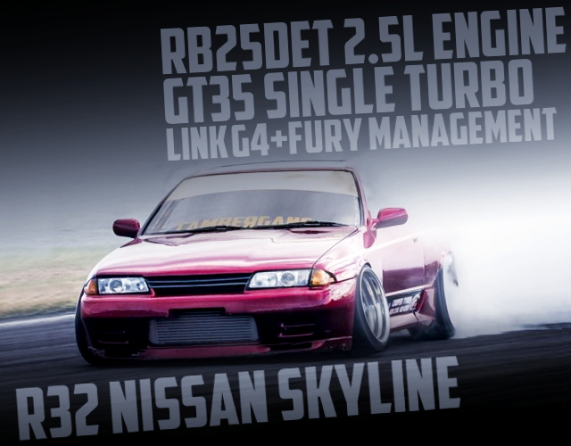 RB25DET GT35 SINGLE TURBO WITH R32 SKYLINE