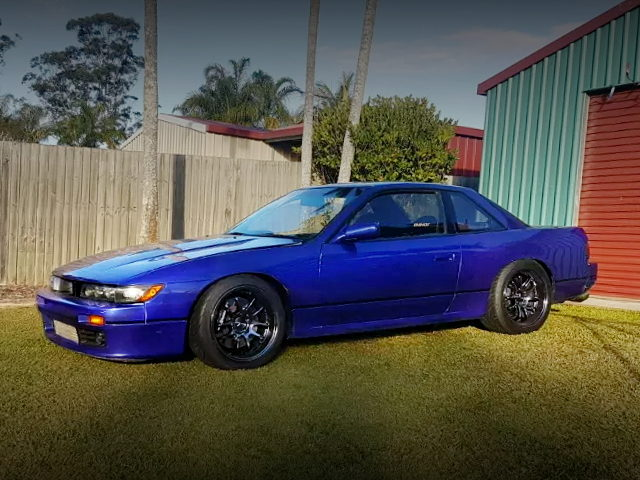 EXTERIOR S13 SILVIA BLUE