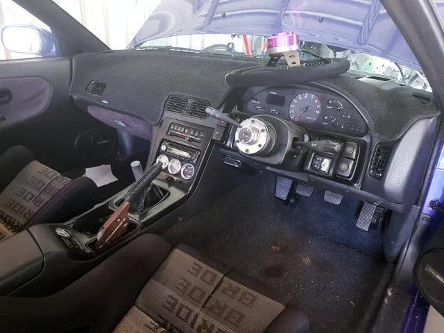 S13 SILVIA DASHBOARD INTERIOR