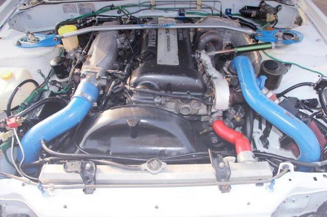 BLACK TOP SR20 TURBO ENGINE