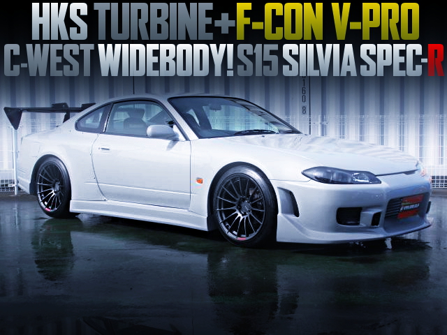 C-WEST WIDEBODY FOR S15 SILVIA SPEC-R