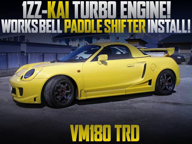 1ZZ TURBO WITH VM180 TRD