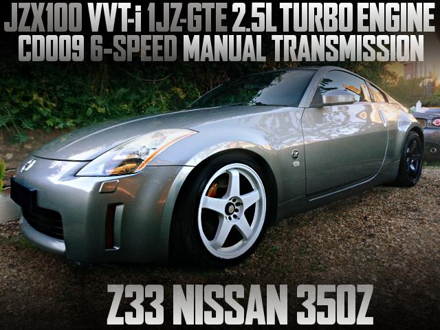 VVT-i 1JZ TURBO ENGINE SWAPPED Z33 350Z