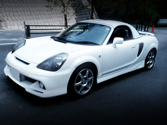 FRONT EXTERIOR ZZW30 TOYOTA MR-S