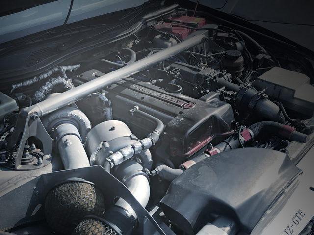 HKS GT2835 TWINTURBO ON 2JZ-GTE