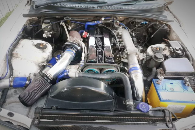 1JZ-GTE WITH GT3076R SINGLE TURBO