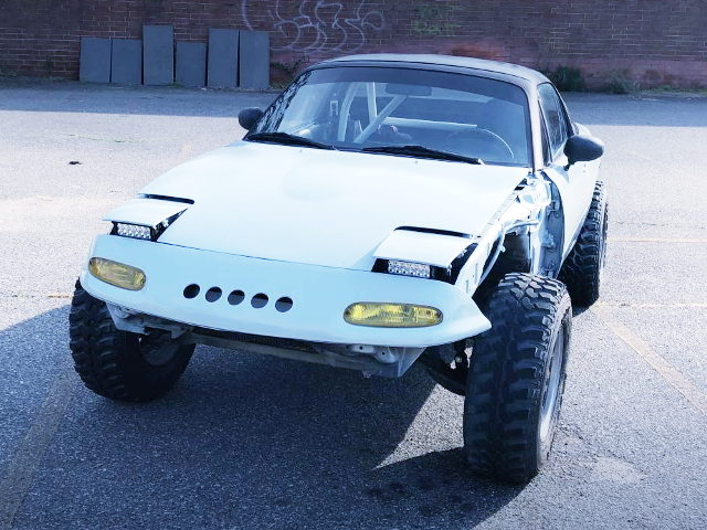 FRONT FACE FOR OFF ROAD CUSTOM MIATA