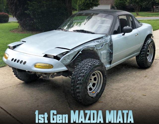 OFF ROAD CUSTOM FOR 1st Gen MAZDA MIATA
