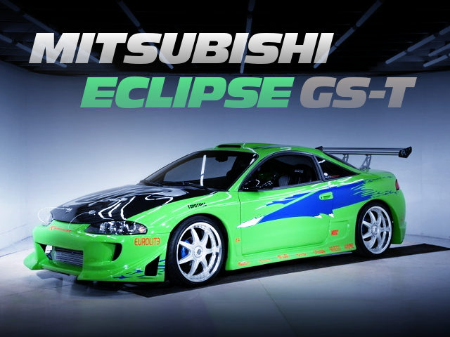 THE FAST AND THE FURIOUS REPLICA BUILD MITSUBISHI ECLIPSE GST