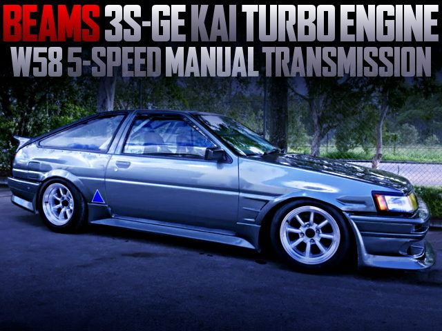 TURBOCHARGED 3S-GE SWAPPED AE86 SPRINTER