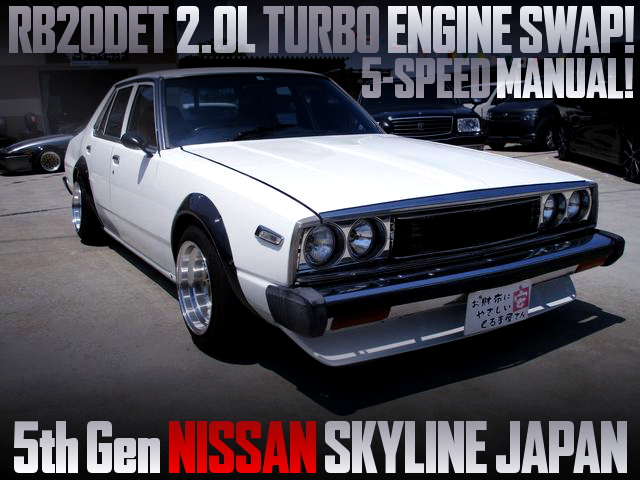 RB20DET SWAPPED 5th Gen SKYLINE JAPAN 4-DOOR
