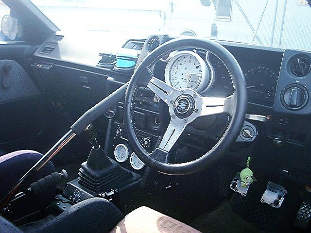 CUSTOM INTERIOR AE86 LEVIN