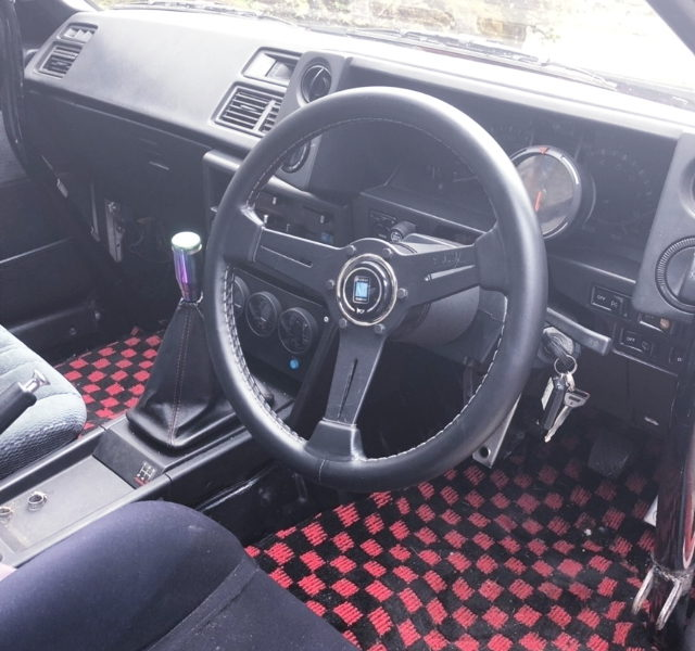 DASHBOARD FOR AE86 INTERIOR