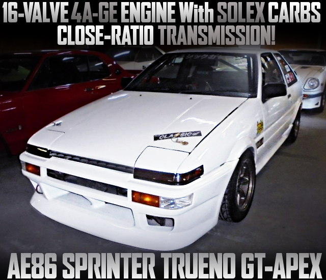 SOLEX CARBS on 16V 4AGE WITH AE86 TRUENO GT-APEX