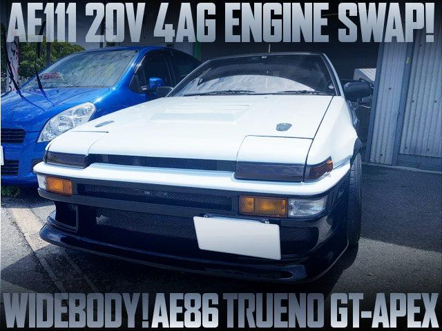 20V 4AG SWAPPED AE86 TRUENO WIDEBODY