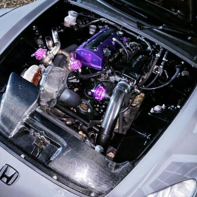 TURBOCHARGED F20C ENGINE