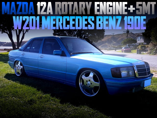 12A ROTARY ENGINE SWAPPED BENZ 190E