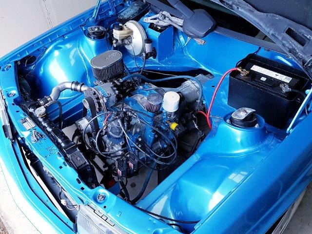 NA 12A ROTARY CARBURETOR ENGINE