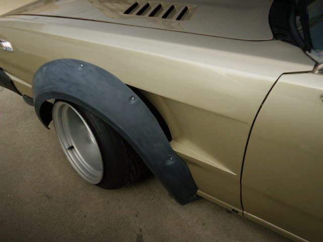 FRONT FENDER DUCT CUSTOM