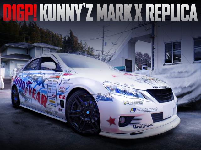 D1GP KUNNYZ REPLICAR FOR GRX130 MARK X 250G