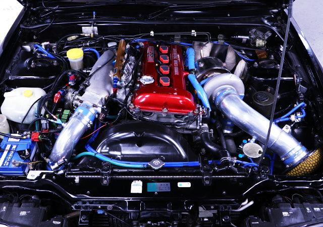 SR20DET TURBO ENGINE FOR DUKE FUKUI TUNING