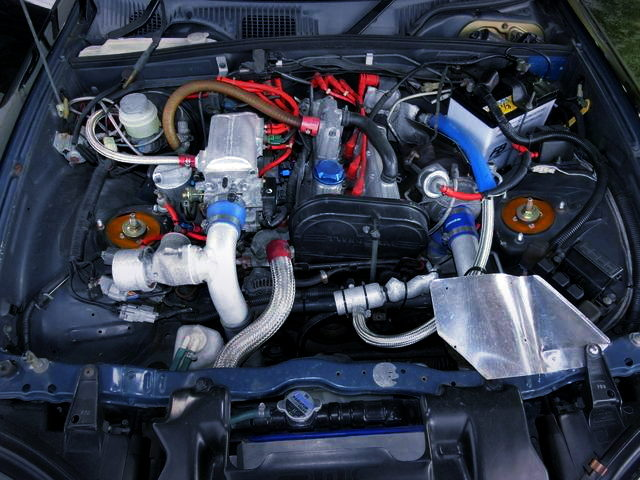 F6A DOHC TURBO ENGINE FOR CAPPUCCINO